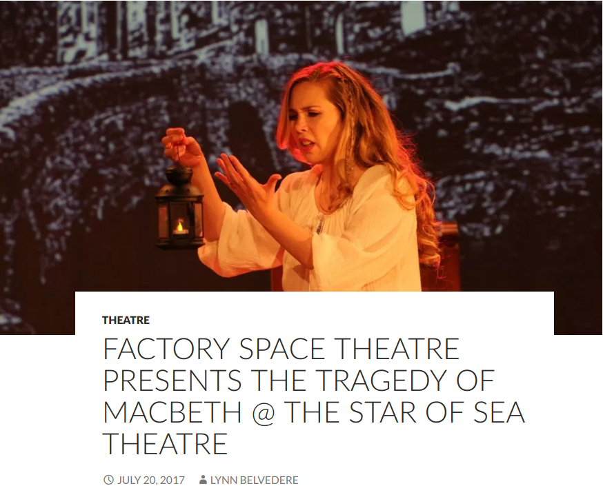 Sydney Arts Guide review of Macbeth